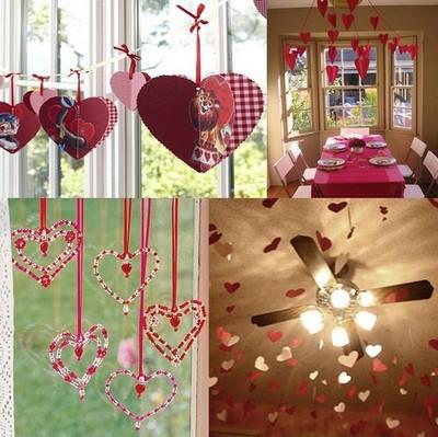Картинки по запросу как украсить комнату на день святого валентина своими руками