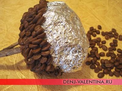 Кофейное дерево на День Влюбленных - мастер-класс