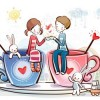Картинки на День Святого Валентина – обои для рабочего стола